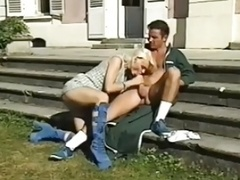 Blond fucked & with Debora fisted & with rectal fucked