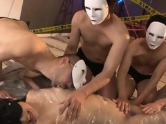 Horny oriental take on 2 big marital-device in hairy cunt