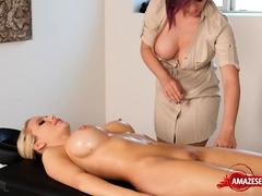 Hot pornstar sex and massage