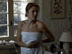 Claudia Gerini nude in The Unknown Dame (2006)