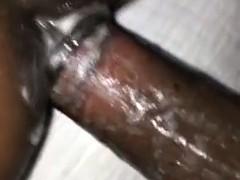 Enthousiasteling, Grote lul, Zwart, Sperma, Zwart, Hardcore