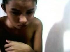 Skinny Filipina Webcam Tease - FreeFetishTVcom