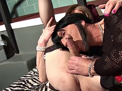 crossdressing old home trannys fuck each other