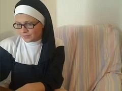 Lustful Katholic Nun on Adult Web camera Chat