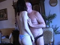 Grandpa Gets a Dick sucking