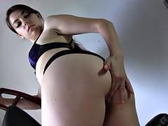 Beautiful Goddess Wants Her Asshole Worshipped