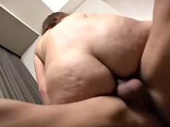girl sucks 2 big dicks