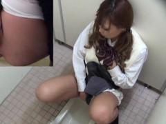 Creepy japanese pissing