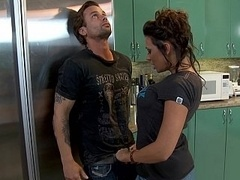 Rachel has every time liked Alan and wants to get down and dirty him