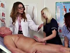femdom cfnm doc and nurse