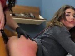 Kinky kitten was taken in anal assylum for uninhibited treat