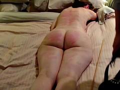 MILF rough spanking - Crying
