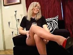 Amateur, Blonde, Fétiche, Fétiche des pieds, Mature, Nylon