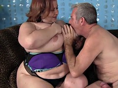 giant boobed lady lynn takes cock