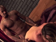 Real milf fucked by bbc in cuckold action