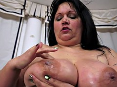 Bigtitted mature screwed in lingerie