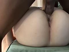 Sperma shot, Hardcore, Interraciaal, Likken, Slipje, Geschoren, Tieten likken