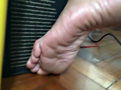 Candid feet stinky sweaty dirty soles and toes