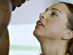 BLACKED First Interracial for Abigail Mac