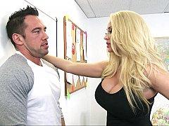 Américain, Sucer une bite, Queue, Mère que j'aimerais baiser, Bureau, Actrice du porno, Suçant, Professeur