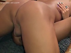 Blonde Asian Girl Gets Abused