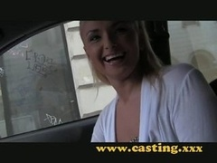 Casting- Russian rectal beauty slides it in with pleasure