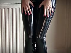 Bondage domination sadisme masochisme, Noire, Femme dominatrice, Latex