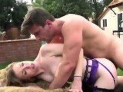 Hot pornstar anal with cumshot