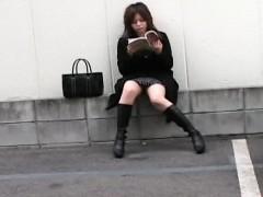 Ai Haneda Naughty Asian teen has public