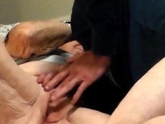 Amateur horny young blonde fingering pussy