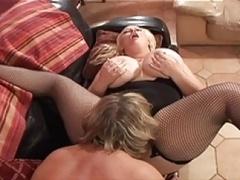 bbw blonde lesbians eating her honey pot
