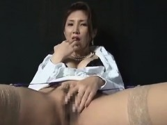 Japanese beauty Masturbation