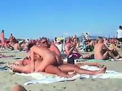 Arsch, Strand, Blasen, Braunhaarige, Milf, Nippel, Realität, Spanner