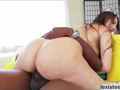 Alexis gets fucked and swallows hot jizz