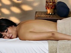 Young slim girl from Japan takes a big white cock in her asian pussy