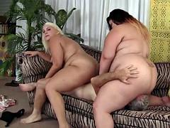 Belle grosse femme bgf, Hard, Plan cul à trois