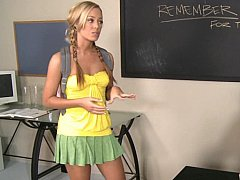She's one of his best and hot students