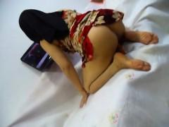 Sexy kurdish hijab housewife Ala kareem masturbation9