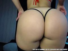 Stripper girl dancing on cam to earn some extra...