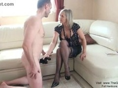 Hot Mature Hand Job  Hi def