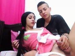 Amateur, Branlette thaïlandaise, Transsexuelle, Webcam