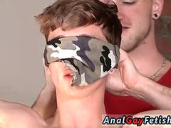 Diaper guys bondage gay Twink boy Jacob Daniels is his latest meal tied up and facialed