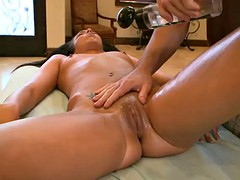 oil massage and vibrator fuck before hardcore sex for tiffany tyler