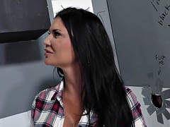busty anal slut jasmine jae takes bbc - gloryhole