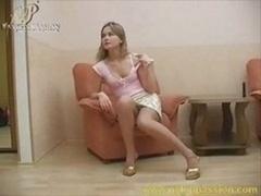 Sonya Plays Rectal Dildo