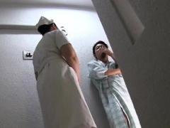 One-eyed monster engulfing nurse in pov scenes
