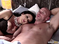 Adulterer Johnny Sins fucks his wife's boss and then his wife Jayden Jaymes