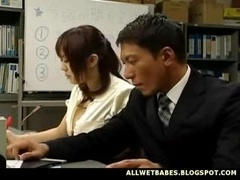 Breasty Asian Teacher Fondled And besides