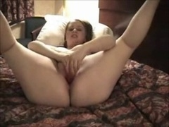Horny Big beautiful women Ex Girlfriend wanking in a Hotel Room