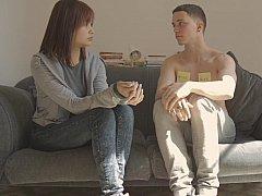 Asiatisch, Japanische massage, Milf, Sohn